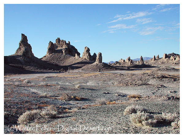 Photo of Trona Pinnacles, Searles Dry Lake, Trona, California