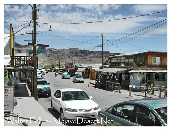 The living ghost town of Oatman, Az.Oatman,
