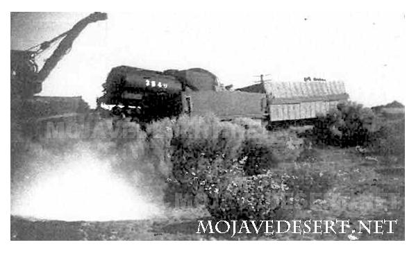 mojave desert train derailment