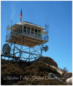 Keller Peak fire lookout tower, San Bernardino National Forest