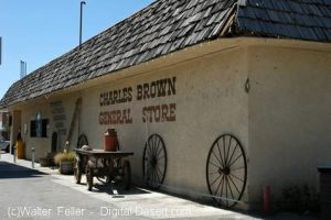 Charles Brown General Store - Shoshone, Ca.