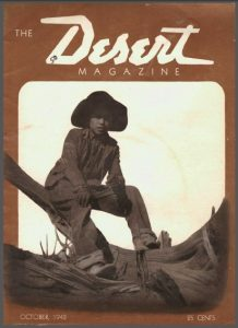 Desert Magazine, Oct. 1942