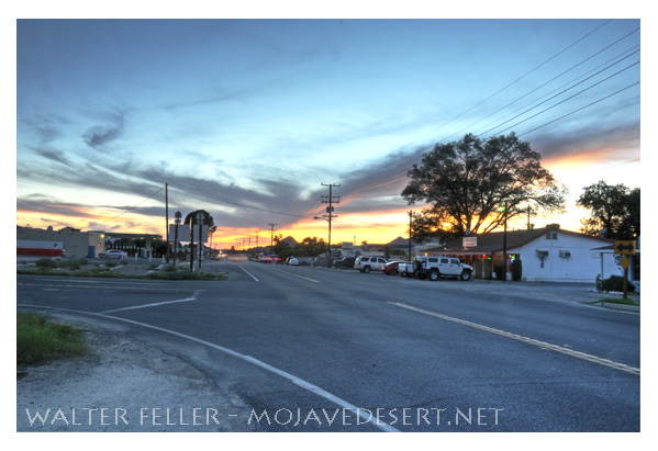 Downtown Lucerne Valley, CA.
