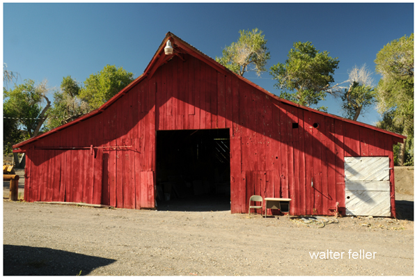 Barn at Old Woman Springs Ranch