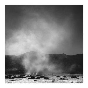 Desert wind storm
