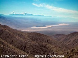Panamint Mountains, Panamint Valley - Mojave Desert