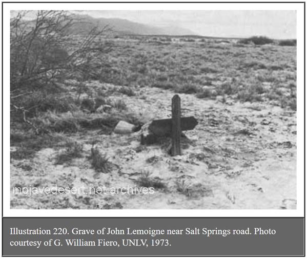Grave of John Lemoigne