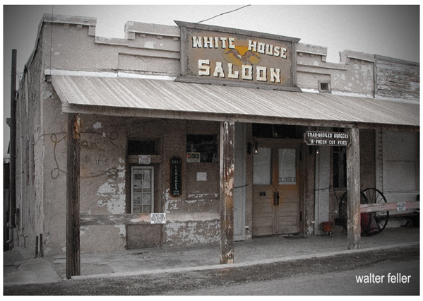White House Saloon - Randsburg ghost town