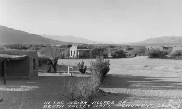 Timbisha Shoshone village, Furnace Creek c.1940