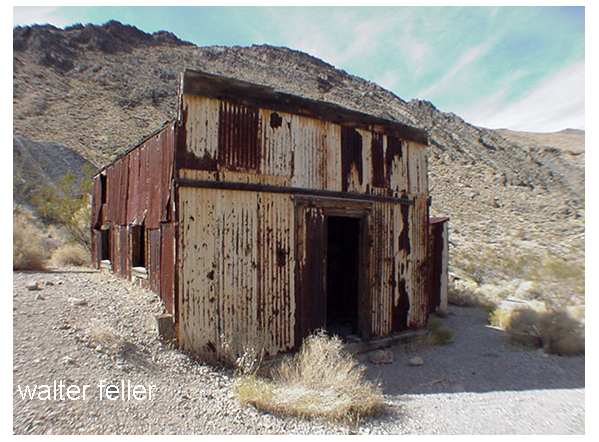 Leadfield post office, Death Valley