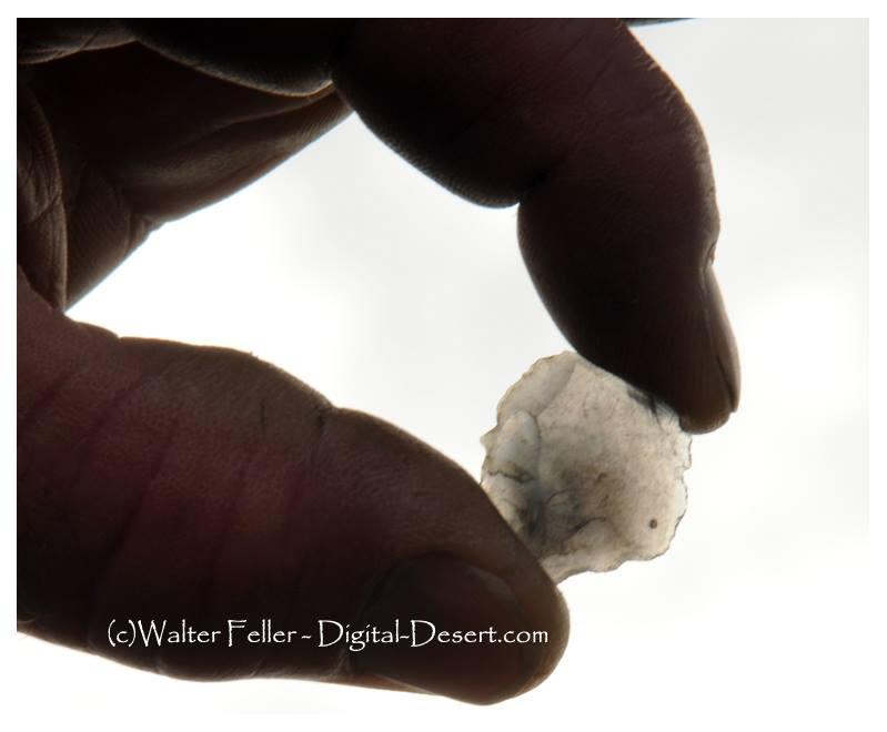 obsidian flake