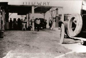 Midway service station