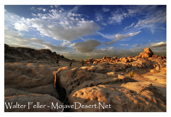 granite formations in the Lucerne Valley, Mojave Desert