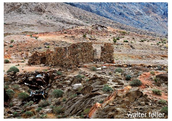 Amargosa Mine ruins at Salt Springs