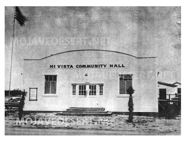 Hi Vista Community Hall