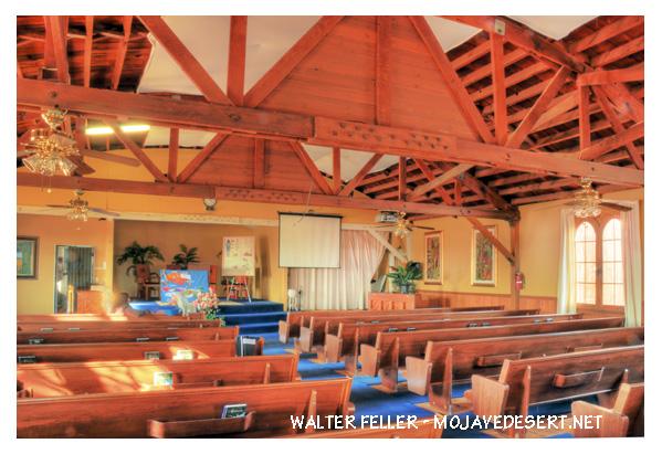 Kill Bill Church is High Vista, CA.