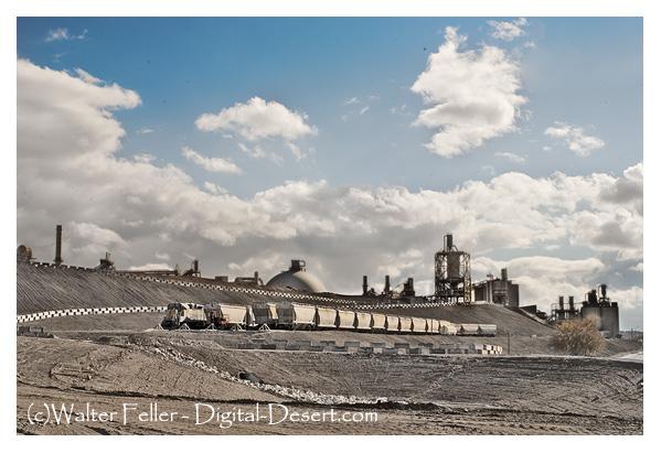 Oro Grande Riverside cement plant, Victor Valley, Mojave Desert