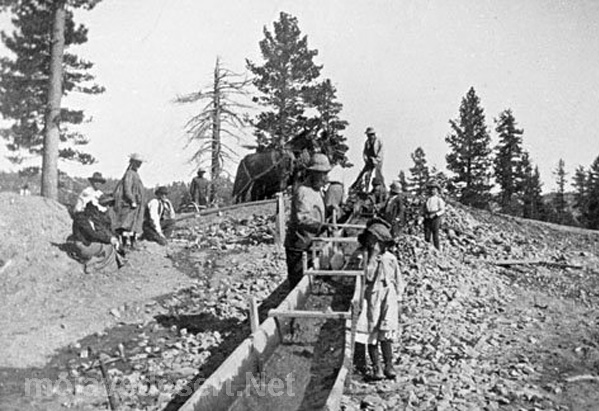 Holcomb Valley gold mine