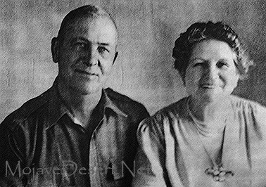 Jack and Ida Mitchell of Mitchell Caverns