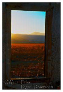 View from shack at Gobar Ranch