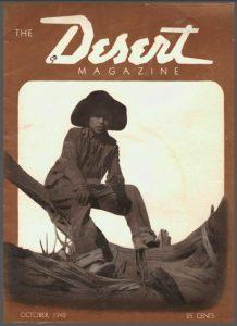 Desert Magazine, Oct. 1942