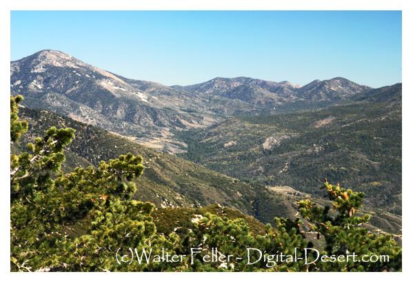 San Bernardino Mountain Range