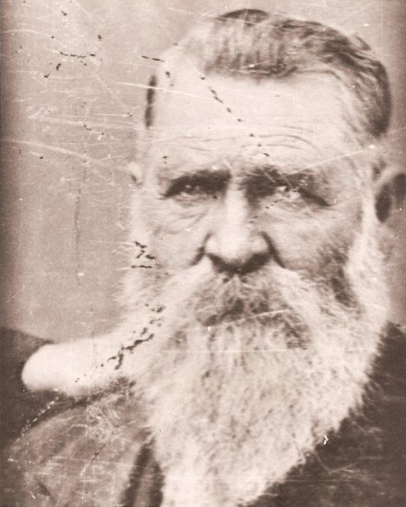 Wagon Master Nicholas Earp Wyatt's dad.