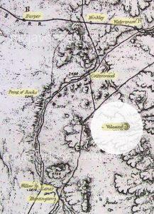 Wheeler map 1880s Mojave Desert