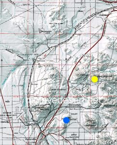 Stoddard Mountain and Bell Mountain (USGS map.