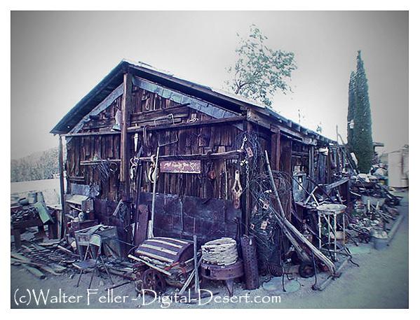 Burro Schmidt Cabin, El Paso Mountains