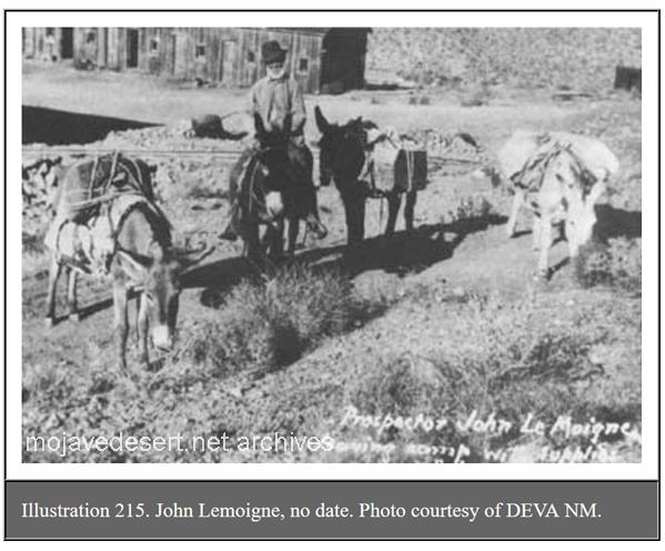 Prospector John Lemoigne