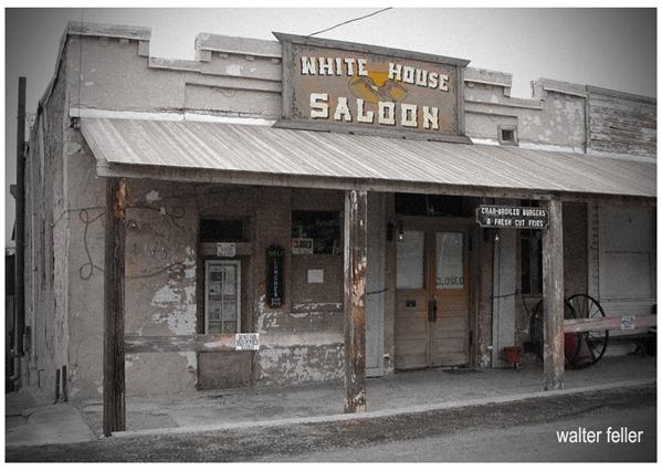 White House Saloon - Randsburg ghost town