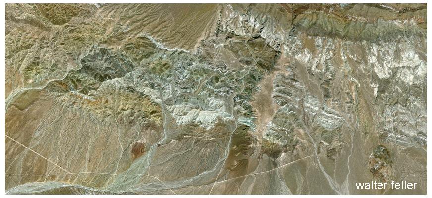 rainbow basin, Owl Canyon - Mojave Desert