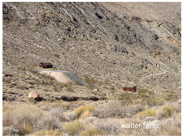 Leadfield ghost town, Death Valley