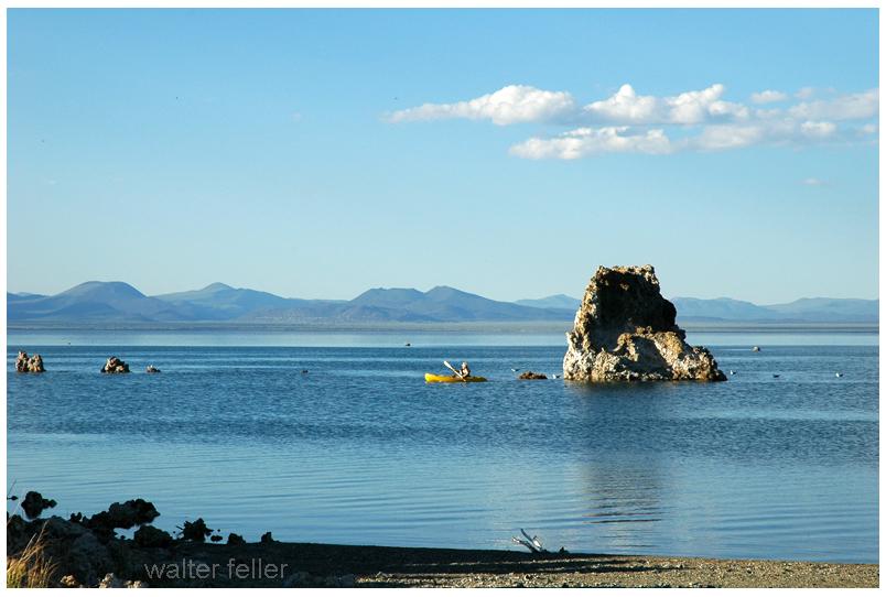 Mono Lake canoe
