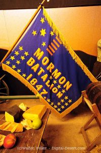 Flag of the Mormon Battailion