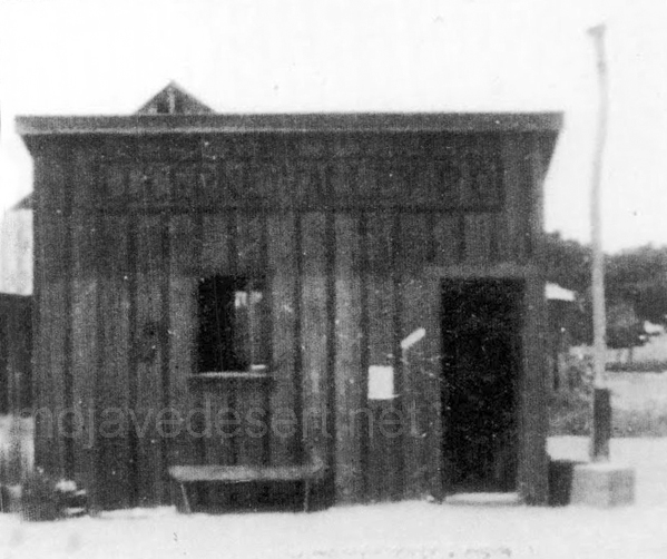 Lucerne Valley post office - Photo courtesy Charles Rader