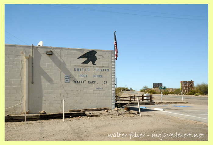 Earp, Ca. post office