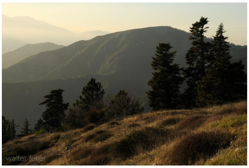 San Bernardino Mountains, Jedediah Smith, Father Garces, Monument Peak, Old Spanish Trail