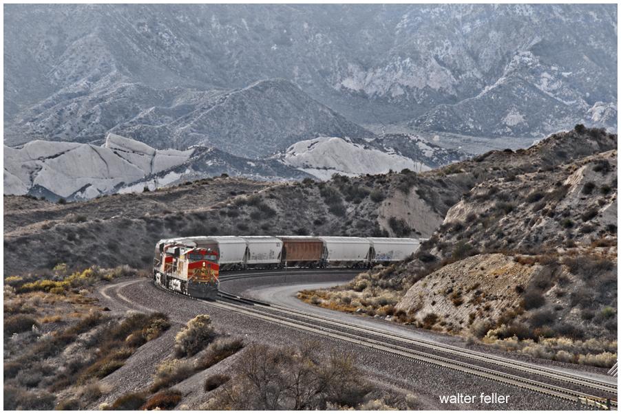 Train at Cajon Summit