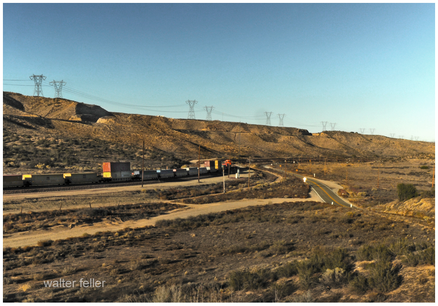 Railroad, Antelope Valley Wash, Summit Valley Road